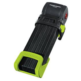Trelock FS 300 Trigo Zapięcie rowerowe z uchwytem zielony/czarny